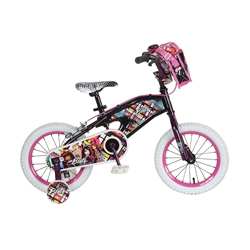 Bratz 14 inch Black Bike