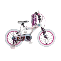 Bratz 16 inch White/Purple Bike
