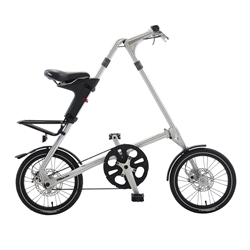 STRiDA 5.0 Silver Folding Bicycle