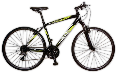 Head Revive XSM 700C Hybrid Road Bicycle 22 inch