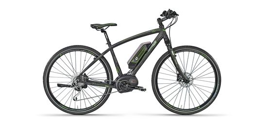 Lombardo E-Amanatea Electric Hybrid Road Bike, 28 inch tires, 16.5 inch frame, Mens Bike, Anthracite