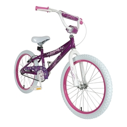 Piranha Young Lady Purple 20 Kids Bicycle