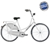 Hollandia Royal Dutch White 26 inch City Bicycle - NAHL00