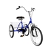 Mantis Tri-Rad 20 Blue Adult Folding Tricycle - NA67520