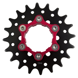 ORIGIN8 Ultim8 Single Speed Cassette Cog w/ 6B Disc Mount