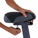 Tunturi E35 Cardio Fit Series Upright Exercise Bike with Ergometer - 16TCFE3550